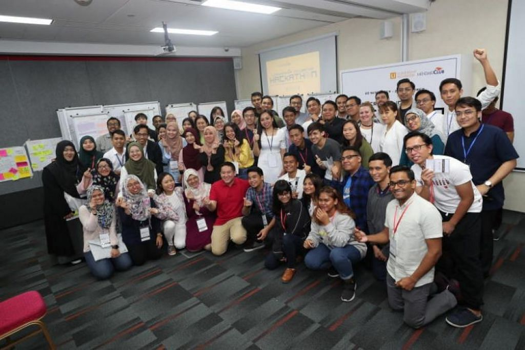 Participants at Mendaki Club youth leadership programme tackle real-world challenges