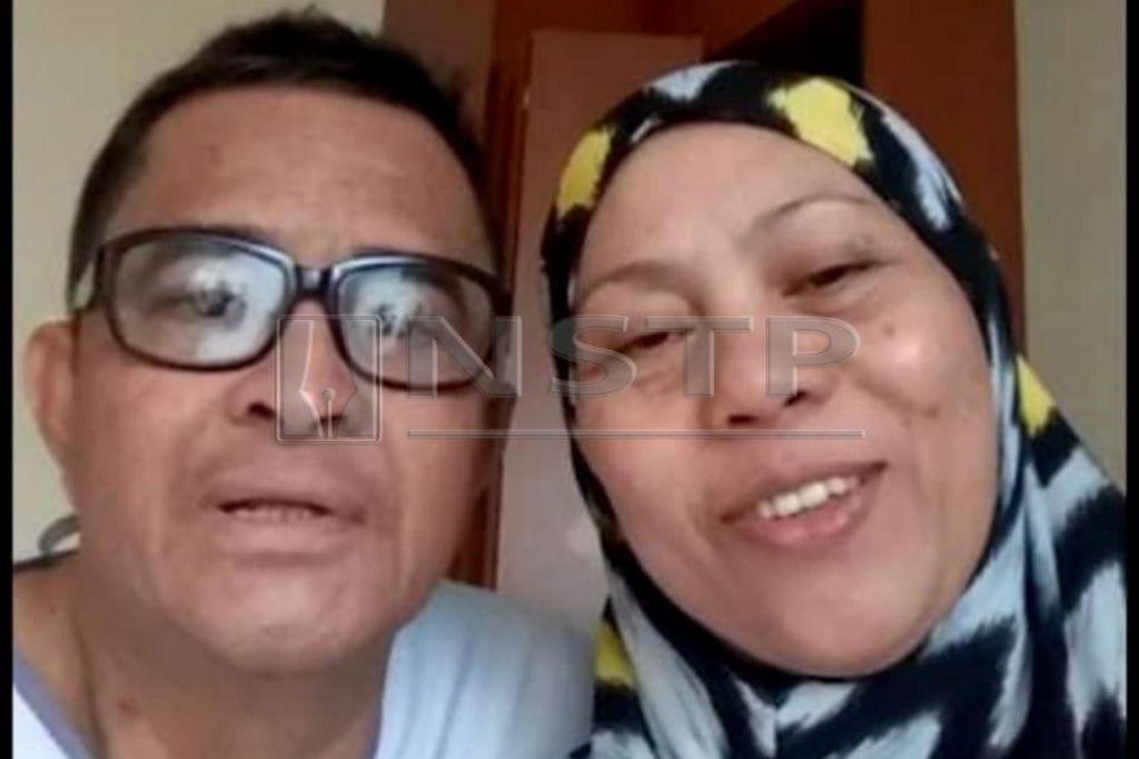 Dayangku Intan bersama suami, Rosman Yahil.