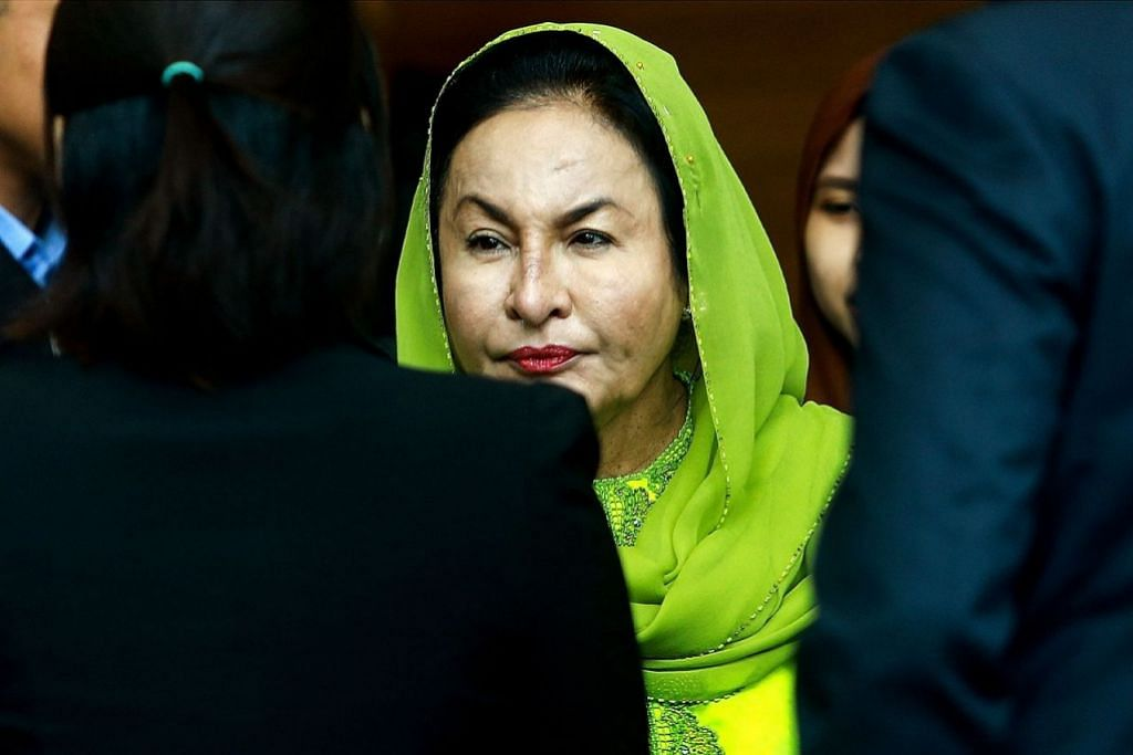 Rosmah arrested by MACC