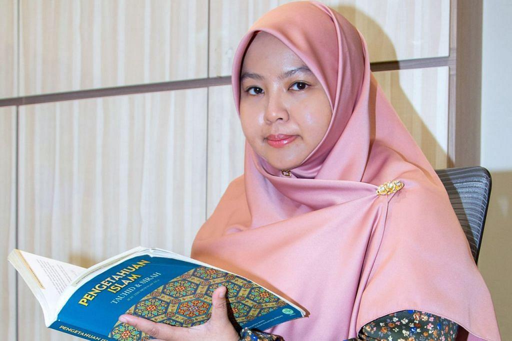 CARI JALAN KELUAR YANG BAIK: Ustazah Nurul 'Izzah Khamsani berkata sikap sabar membuat seseorang itu tenang dan dapat berfikir dengan rasional apabila berdepan dengan sesuatu ujian. - Foto fail