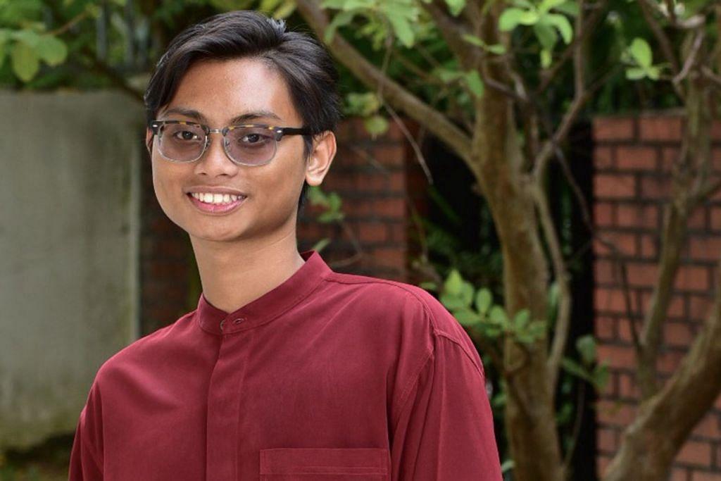 DIBERI PENGIKTIRAFAN: Muhammad Nur Syamin Samuri adalah di antara empat pelajar ITE yang menerima anugerah khas bagi biasiswa yang diberikan oleh Persatuan Dana Amanah Muslimin (MTFA), baru-baru ini. - Foto BH oleh DIOS VINCOY JR