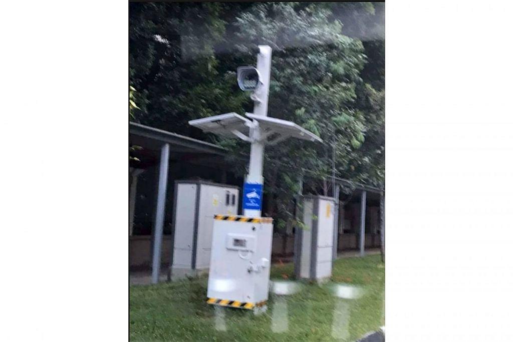 SISTEM BARU: LTA berkata sistem kamera baru ini telah disediakan di beberapa laluan awam sejak November 2017 dalam usaha mengawal tingkah laku p`enunggang yang salah di laluan awam. - Foto oleh PEMBACA ST