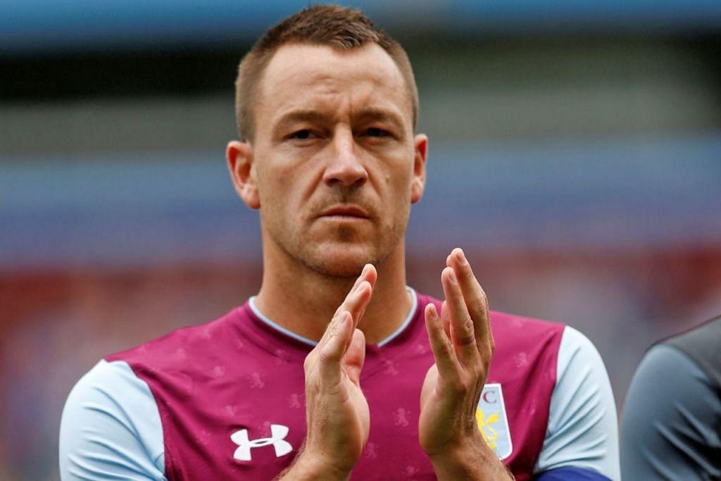 AKHIRNYA BERSARA: John Terry mengambil keputusan untuk bersara daripada bola sepak pada usia 37 tahun. - Foto REUTERS