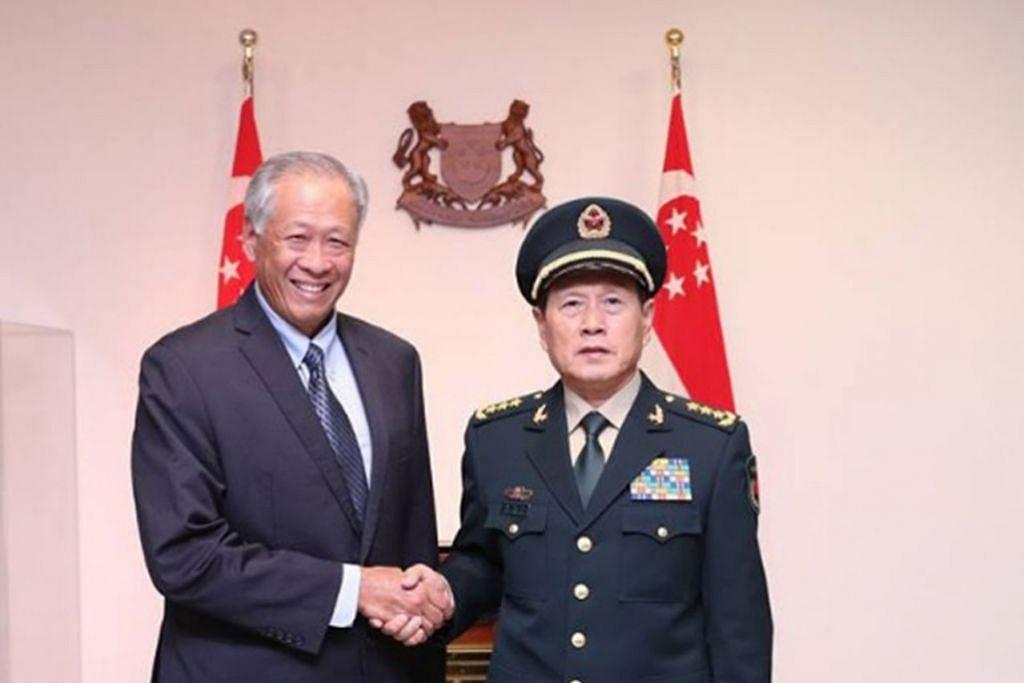Sambut baik usaha kerjasama pertahanan kukuh Asean-China