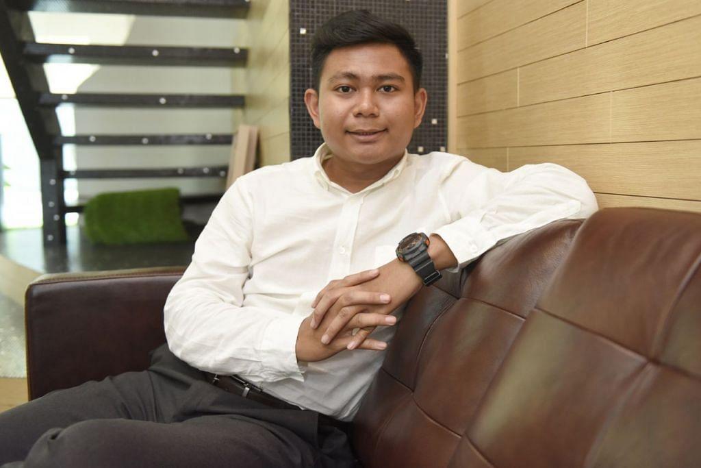 SUKA GODAM KOMPUTER SEJAK KECIL: Encik Muhammad Khairul Syafiq Md Zaini kini konsultan keselamatan siber di sebuah firma. Beliau raih ijazah Sarjana Muda Kejuruteraan dalam Teknologi Maklumat dan Komunikasi (Keselamatan Maklumat) dari SIT. - Foto BH oleh SYAZA NISRINA