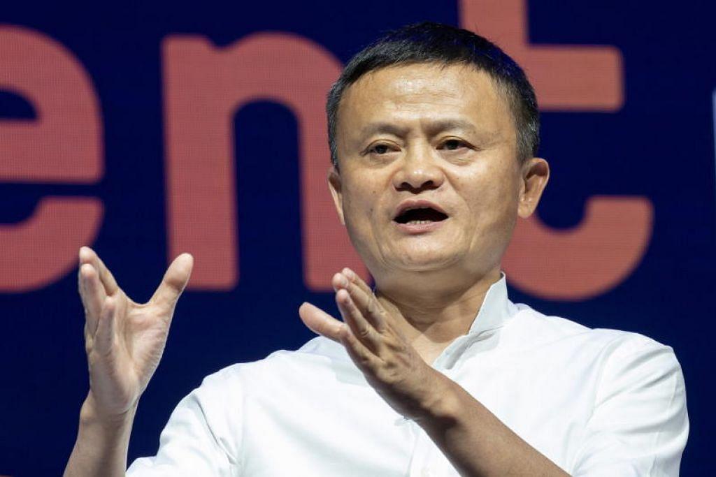 Jack Ma dari Alibaba berkata Institut Usahawan Jack Ma akan melatih 1,000 pemimpin teknologi setahun dalam masa 10 tahun akan datang.