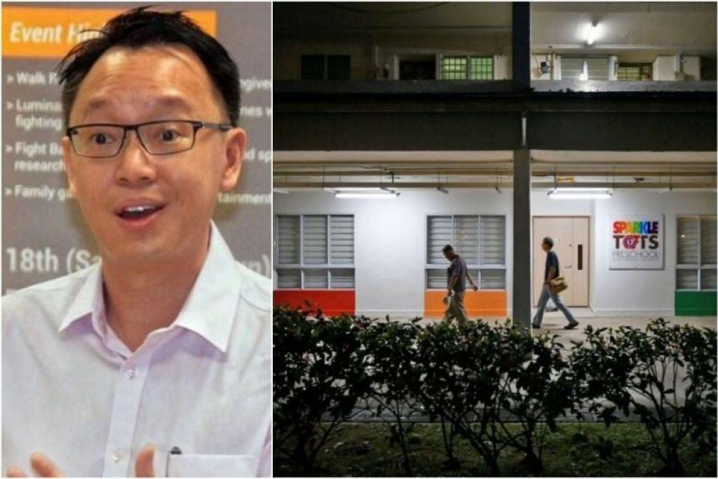 AP GRC Jurong Dr Tan Wu Meng diserang semasa Sesi Bertemu Penduduk di Blok 334 Clementi Avenue 2 pada 16 April lalu.