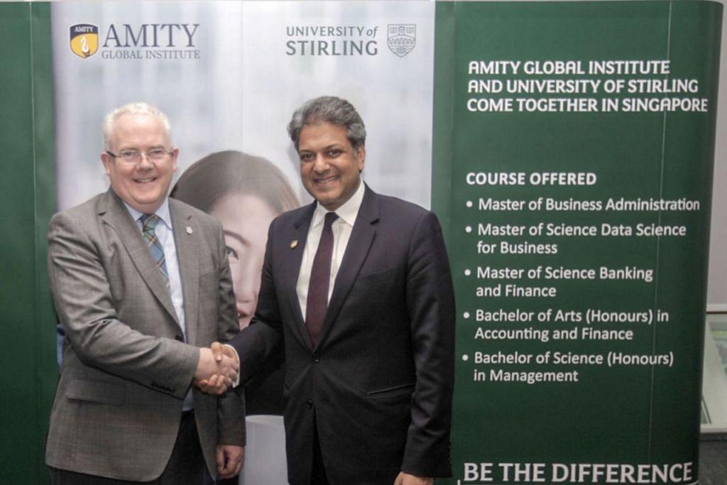 Universiti Stirling, Institut Amity Global tawar kursus dalam sains data