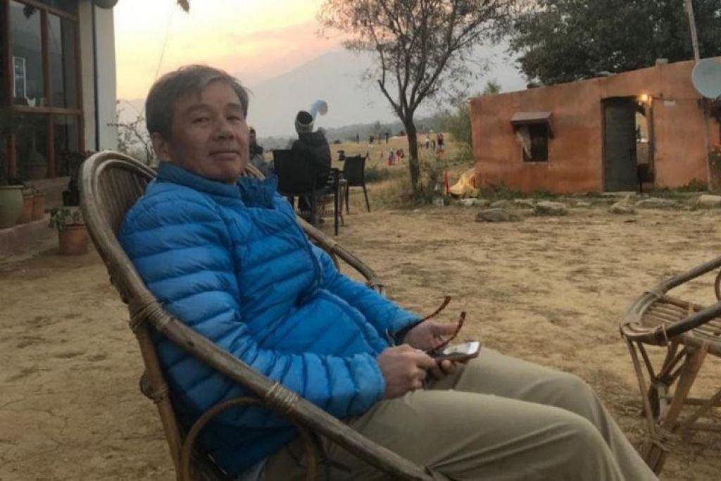 Encik Ng ditemui mati semalam, sehari selepas beliau dilaporkan hilang.