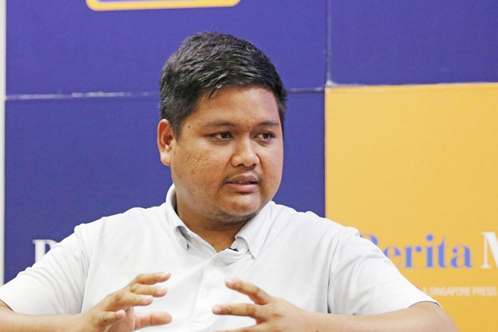 ENCIK NASRUL: Tidak melihat dirinya berhijrah dari Singapura buat masa ini kecuali sistem politik atau ekonomi jatuh dengan teruk. – Foto BH oleh JEREMY KWAN