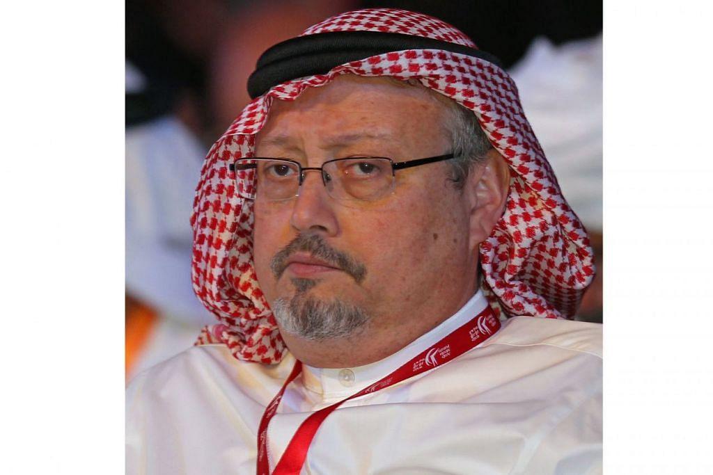 ENCIK JAMAL KHASHOGGI: Masih menjadi tanda tanya tentang kematian Encik Khashoggi di konsulat Saudi di Istanbul pada 2 Oktober lalu.