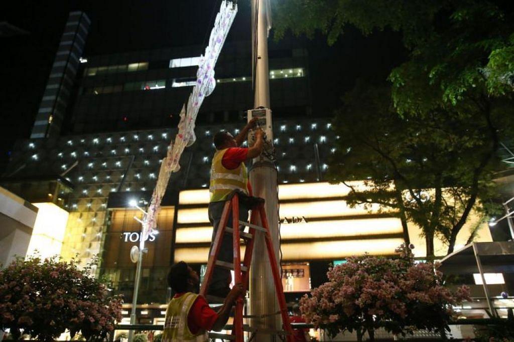 Sejumlah 60.6 kilometer lampu tali LED digunakan semasa sambutan Krismas tahun lalu di Orchard Road. Bal LED menggunakan sekitar 80 peratus kurang elektrik dan boleh bertahan lebih lama, menjadikannya lebih cekap secara kos.