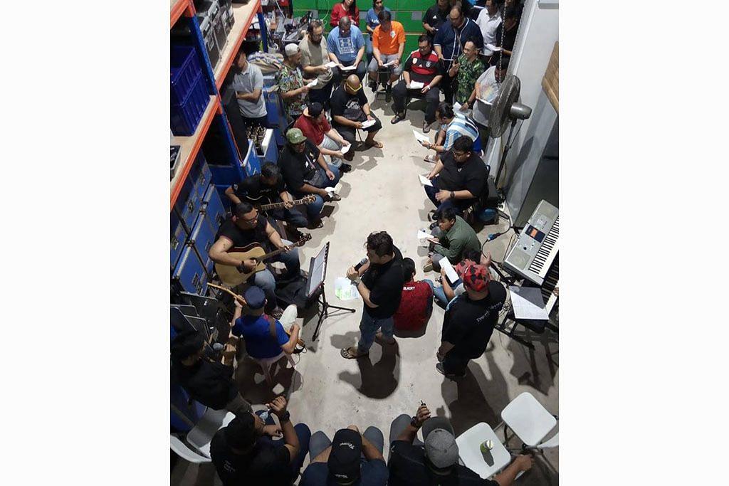 Membara semangat penggiat dikir barat siapkan acara 'Kekata Kelkatu'
