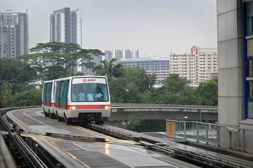 Khidmat LRT di Bukit Panjang kembali seperti biasa. Foto: FAIL