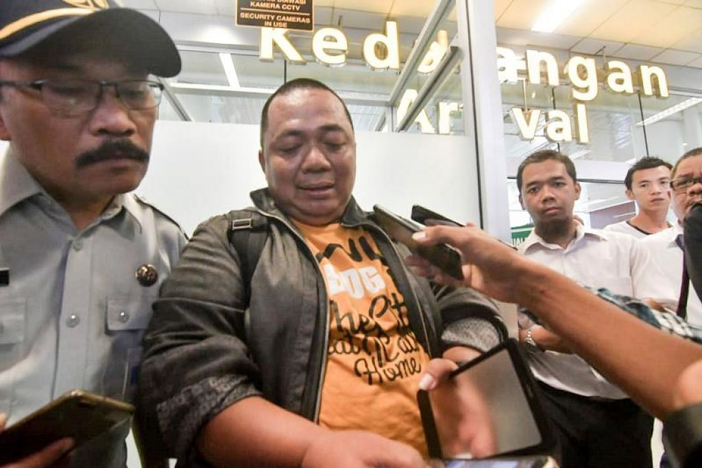 Encik Sony Setiawan. Foto: AFP