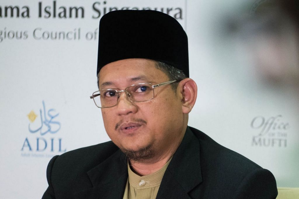 Mufti Dr Mohamed Fatris Bakaram.