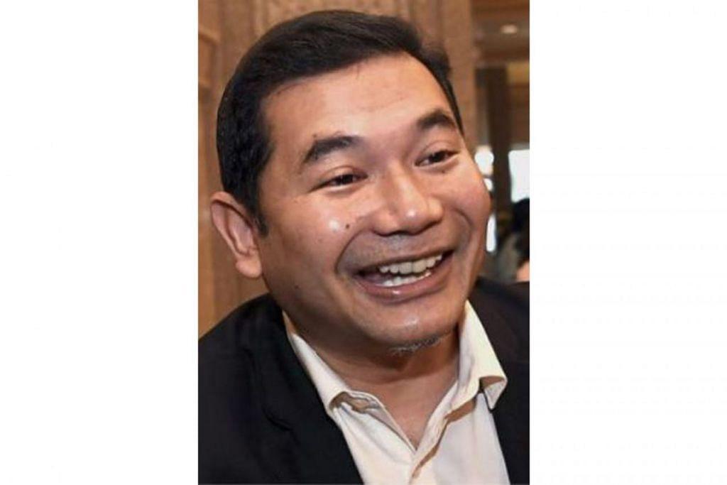ENCIK RAFIZI RAMLI: Berkata baik menang mahupun kalah, beliau tidak mahu sembarang jawatan awam selama dua tahun bagi tumpu pada keluarga dan perkuat rangkaian akar umbi PKR.