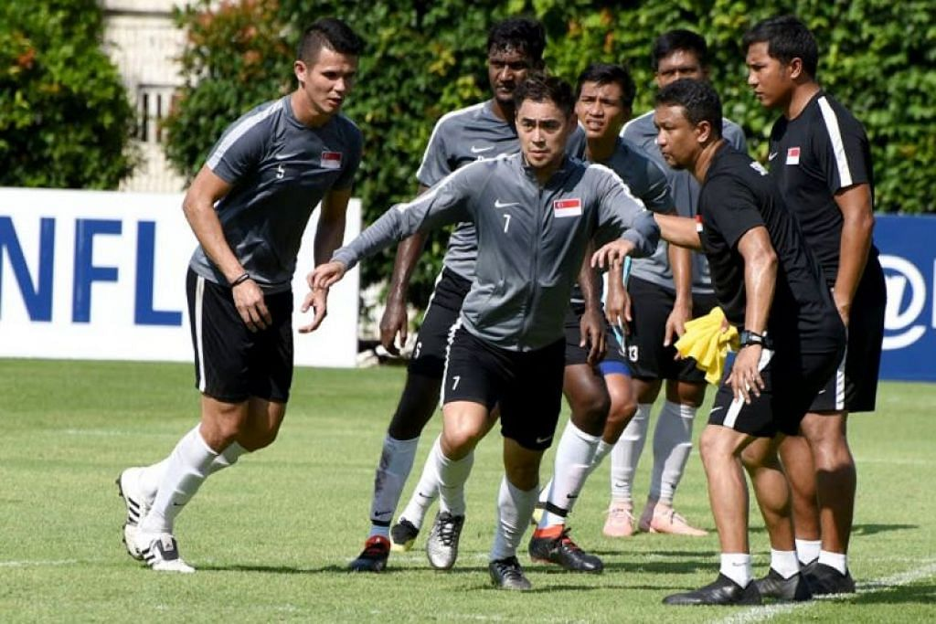 Seven Lions could make AFF Suzuki Cup debut as national coach Fandi Ahmad confirms 23-man squad