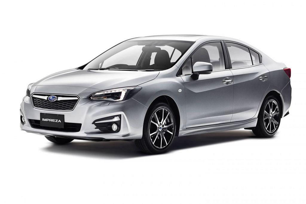 TERJEJAS: Kereta Subaru Impreza yang dikeluarkan antara 2012 hingga 2013 merupakan antara model yang ditarik balik ekoran kemungkinan spring injap yang rosak. - Foto SUBARU