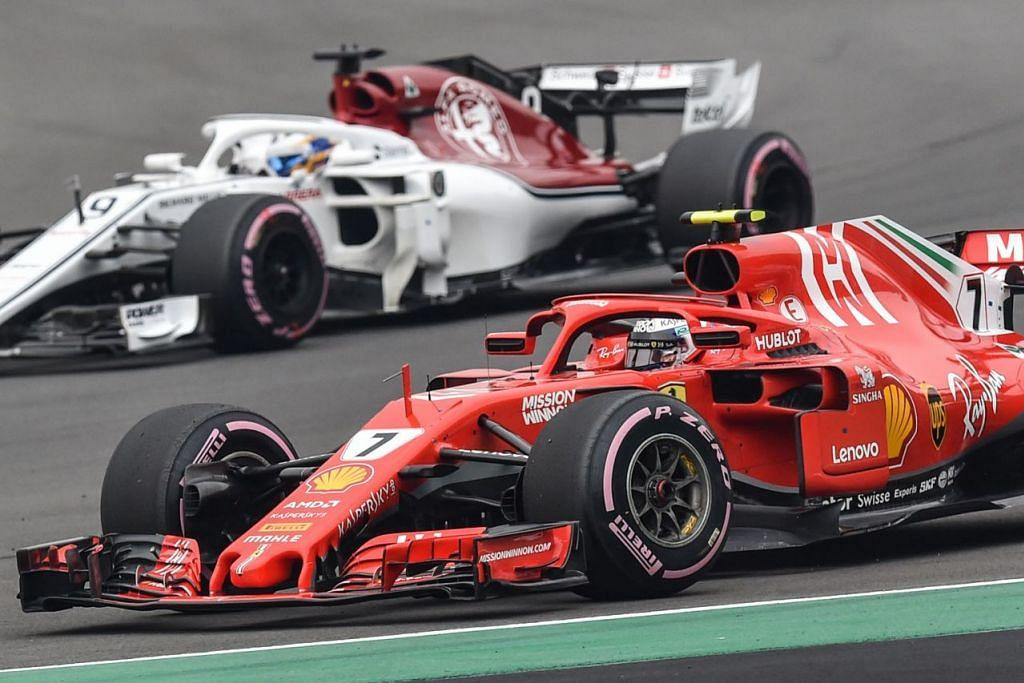 ASIA JADI TUMPUAN: Ketua Pegawai Eksekutif Formula Satu (F1), Encik Chase Carey menyifatkan Asia sebagai rantau utama 'enjin pertumbuhan dunia'. - Foto AFP