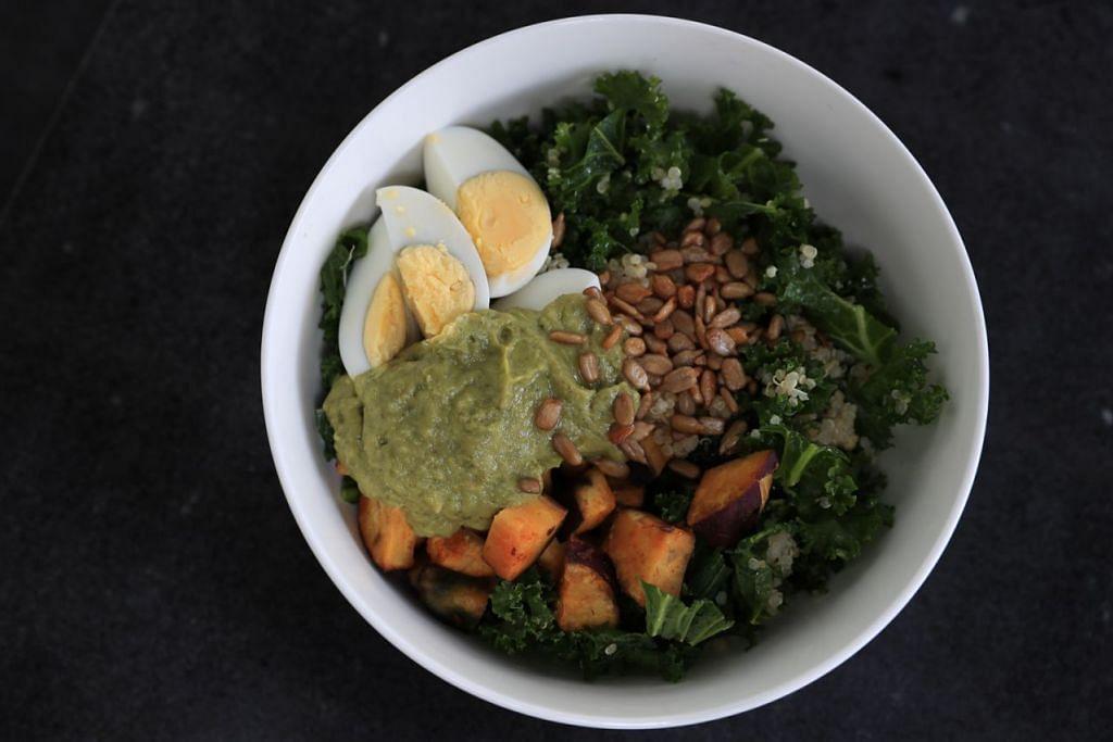 Salad Quinoa & Sos Alpukat. - Foto BH oleh TIMOTHY DAVID