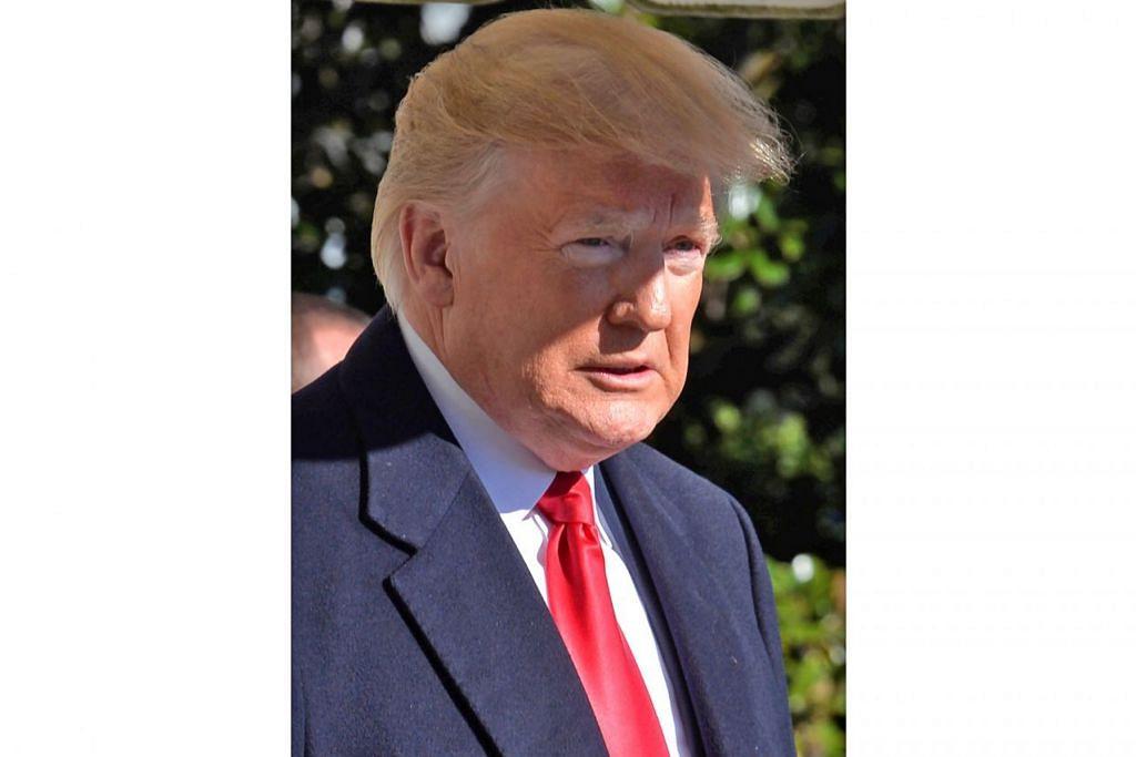 ENCIK DONALD TRUMP: Presiden Amerika bersama partinya Parti Republikan berusaha mengekalkan penguasaan ke atas Dewan Perwakilan dan Dewan Senat dalam suasana hiruk-pikuk dengan pandangan terhadapnya.