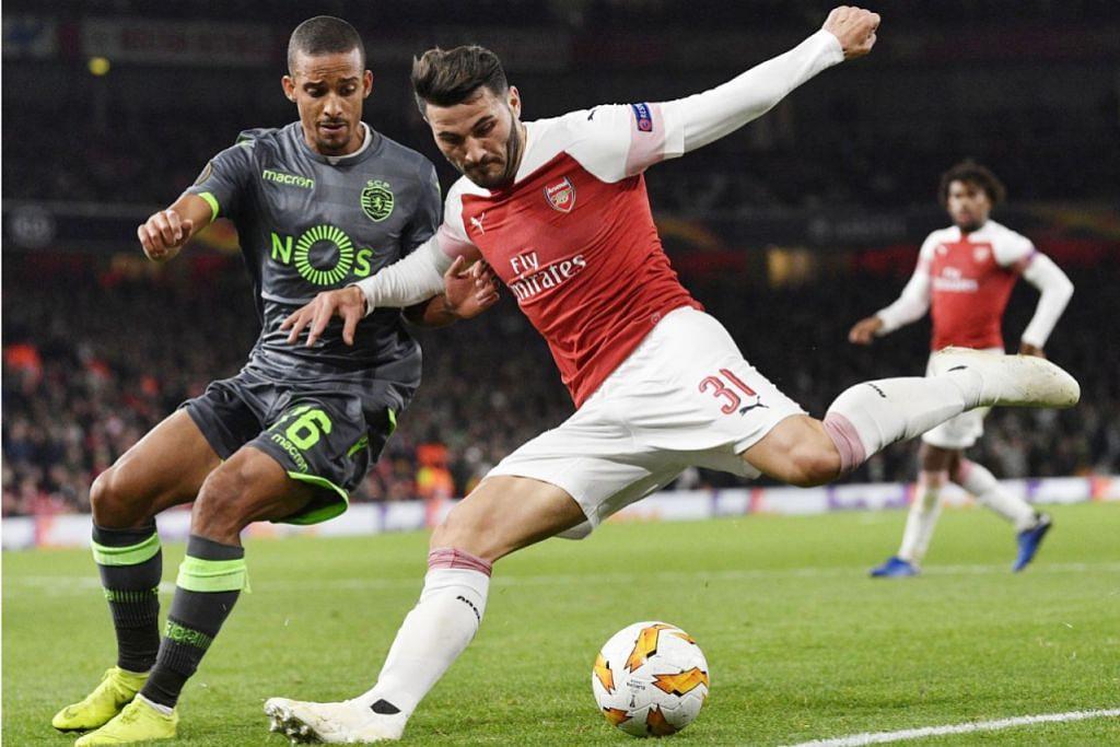 Arsenal kembali bertaring, layak ke peringkat kalah mati