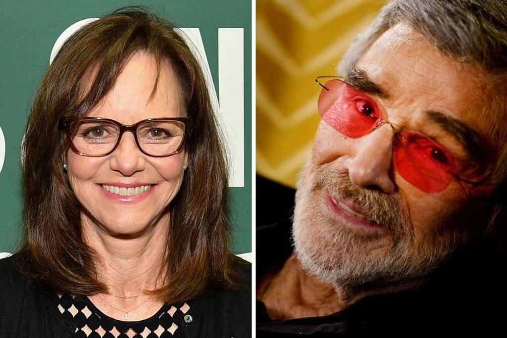 HIDUPNYA TERUS DIKONGKONG: Sally Field (kiri) menyifatkan hidupnya dikongkong Burt Reynolds (kanan) semasa mereka tinggal bersama selama beberapa tahun sejak 1977. - Foto-foto fail AFP, REUTERS