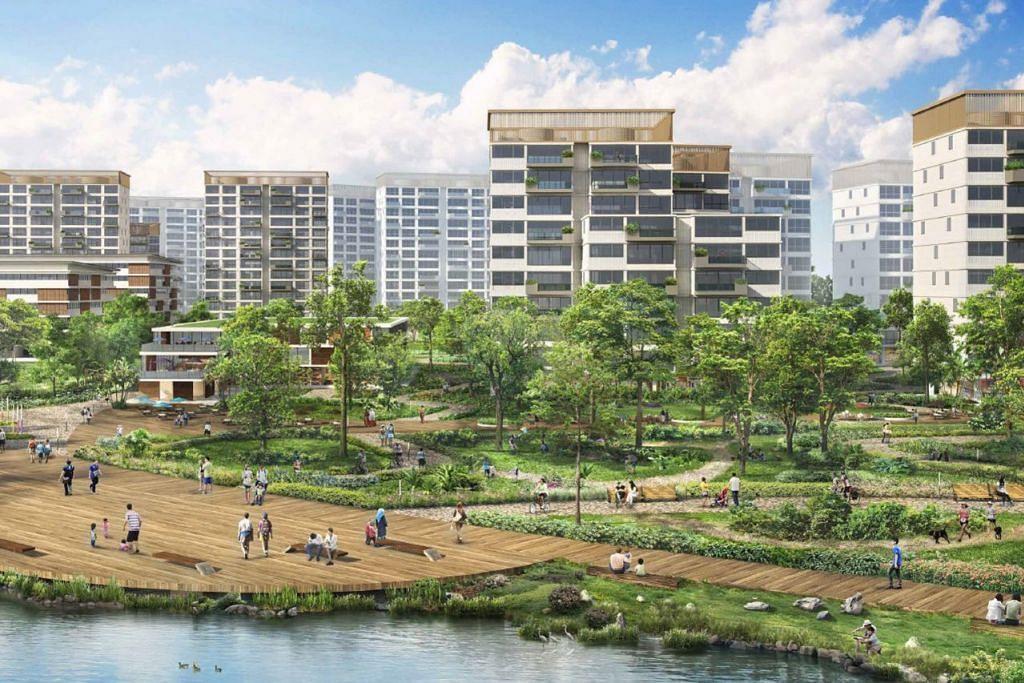 PARK DISTRICT: Daerah ini ditempatkan sebagai hab dan pusat bandar Tengah. - Foto HDB