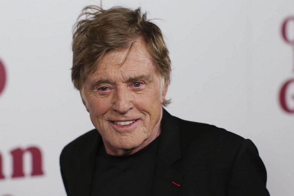 RASA MENYESAL: Itulah luahan Robert Redford yang pernah berkata mahu bersara. Beliau telah menceburi dunia lakonan lebih 65 tahun tapi masih lagi terus menjadi aktor dalam filem terbarunya, 'The Old Man and the Gun.' - Foto AFP
