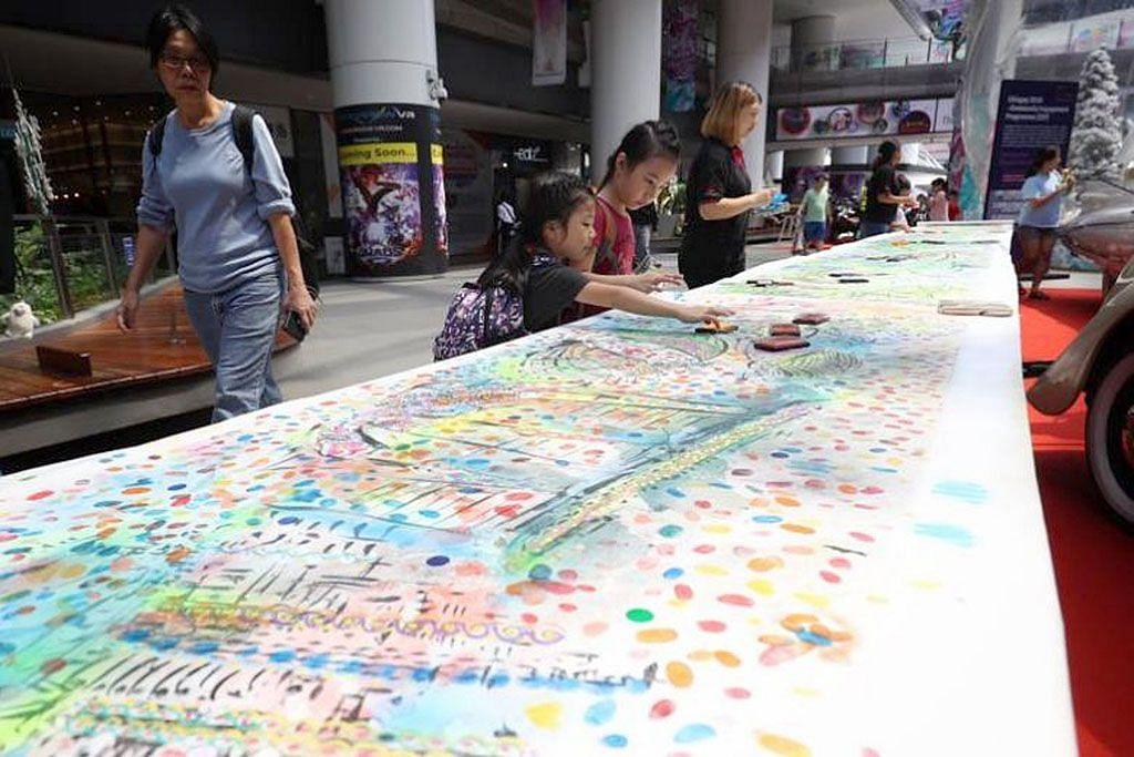 Chingay 2019 ketengah lukisan sepanjang 270m
