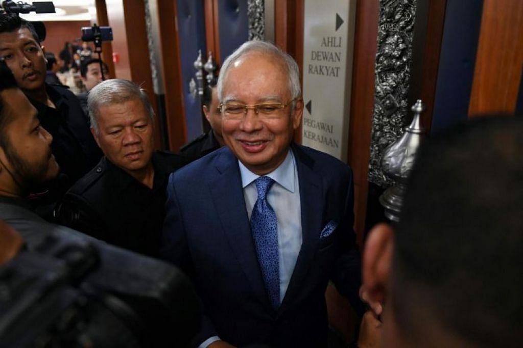 Najib nafi pernah akui ditipu Jho Low. Foto: AFP