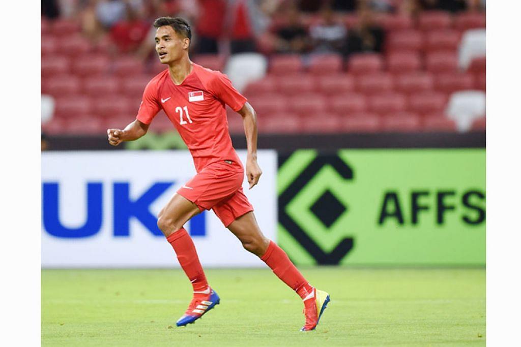 Safuwan diharap berjaya sumbat gol untuk Singa