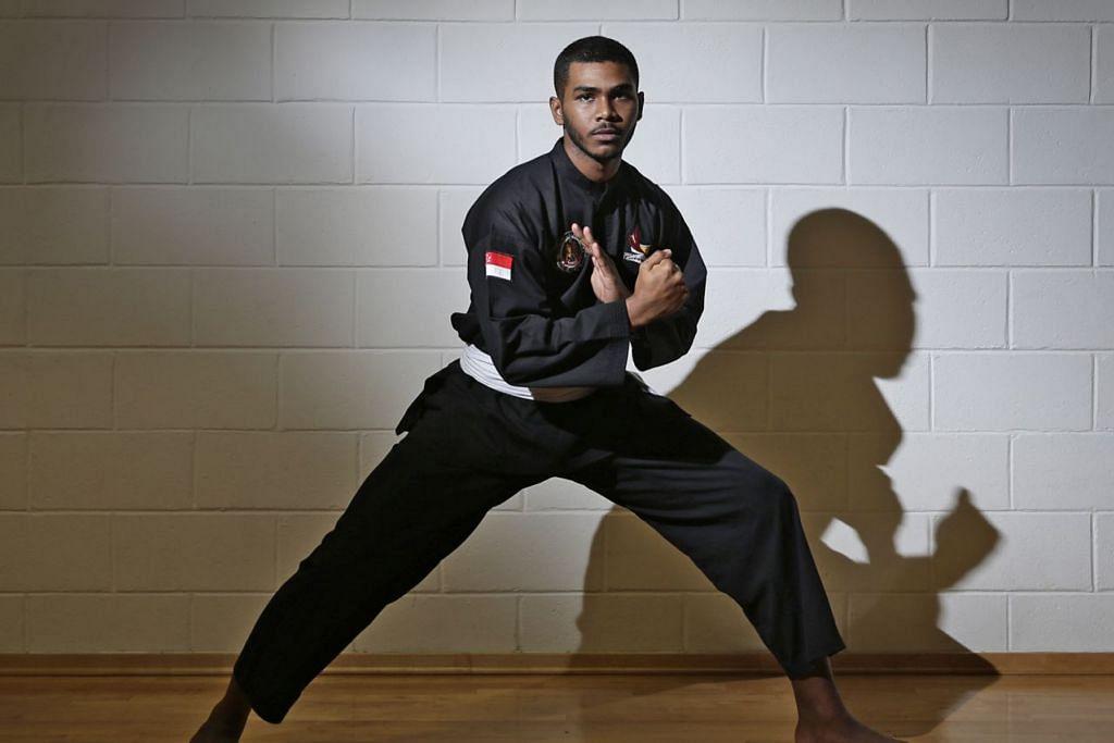 MENJADI HARAPAN NEGARA: Sheik Farhan menjadi antara pesilat harapan negara untuk membolot pingat emas di Kejohanan Pencak Silat Sedunia ke-18 setelah berjaya menjadi juara dunia dua kali berturut-turut. - Foto fail