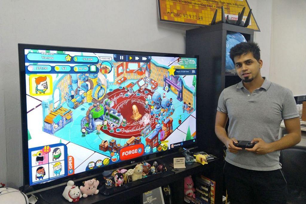 MINDA KREATIF: Encik Faizan bersama rakan-rakannya telah berjaya menghasilkan permainan Holy Potatoes! A Weapon Shop?! yang menarik minat pemain di luar negara. - Foto BH oleh DAYLIGHT STUDIOS