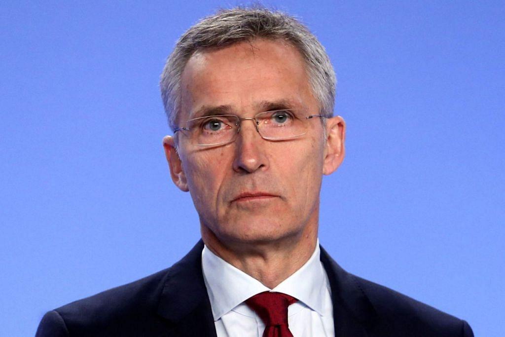 ENCIK JENS STOLTENBERG: Berkata Nato tidak mengambil sembarang langkah yang mungkin memburukkan keadaan.