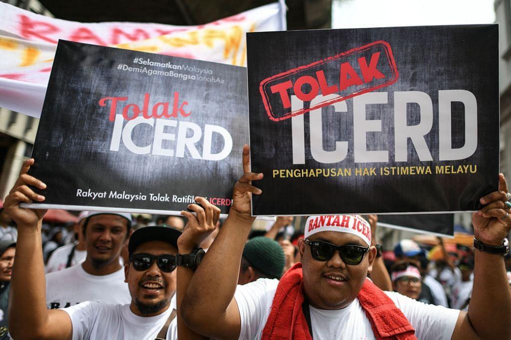 Himpunan aman di KL tolak konvensyen hapus diskriminasi kaum