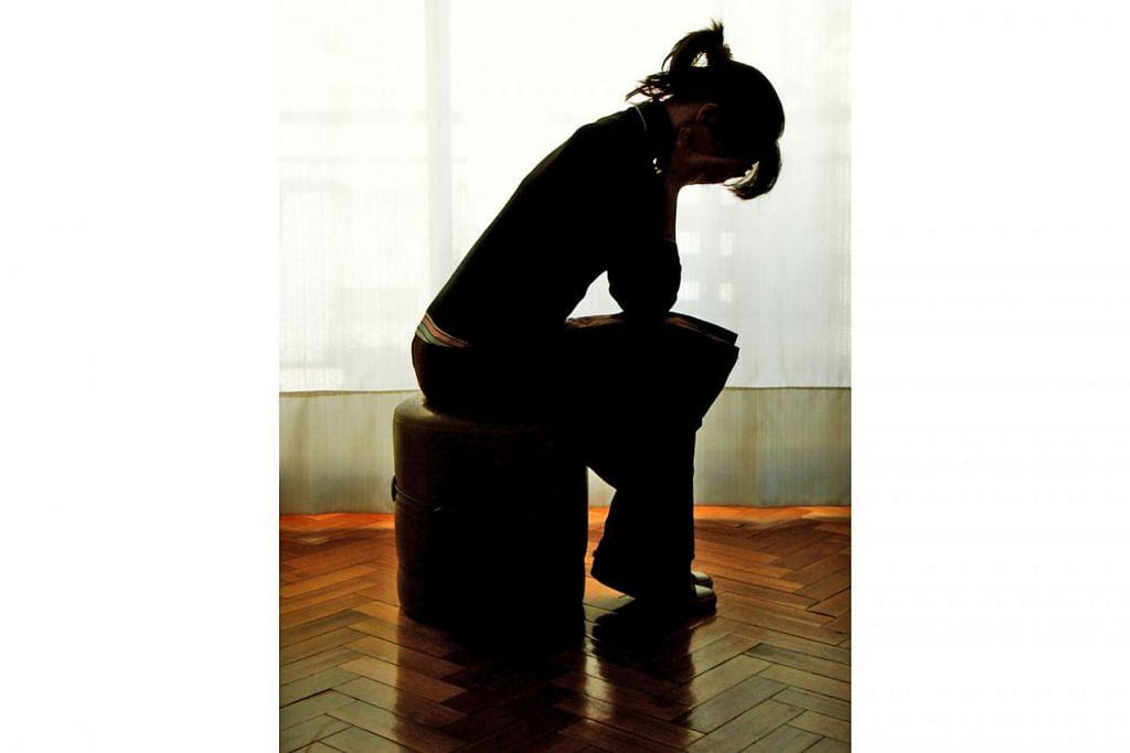 KEMURUNGAN SEMAKIN BERLELUASA: Kecelaruan episod kemurungan utama (MDD) merupakan penyakit mental yang sering dialami penduduk Singapura dan golongan muda ialah antara kumpulan yang terdedah kepada penyakit ini. - Foto FREE IMAGES