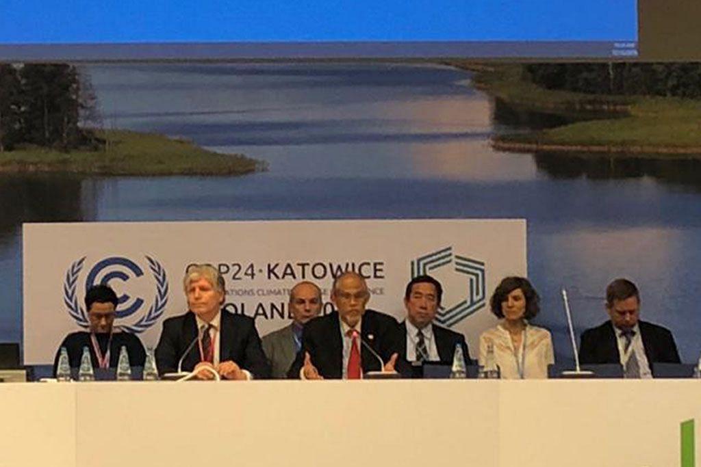 S'pura diminta main peranan utama cari kata sepakat bagi tindakan iklim PERSIDANGAN PERUBAHAN IKLIM