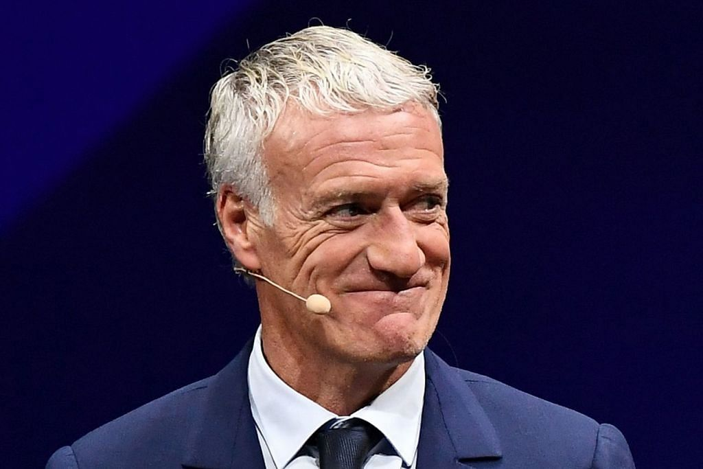 PILIHAN POPULAR: Zinedine Zidane, Mauricio Pochettino, Didier Deschamps (atas), Laurent Blanc dan Ryan Giggs merupakan antara pilihan yang berpotensi menggantikan Jose Mourinho yang telah meninggalkan kelab bola sepak tersebut.