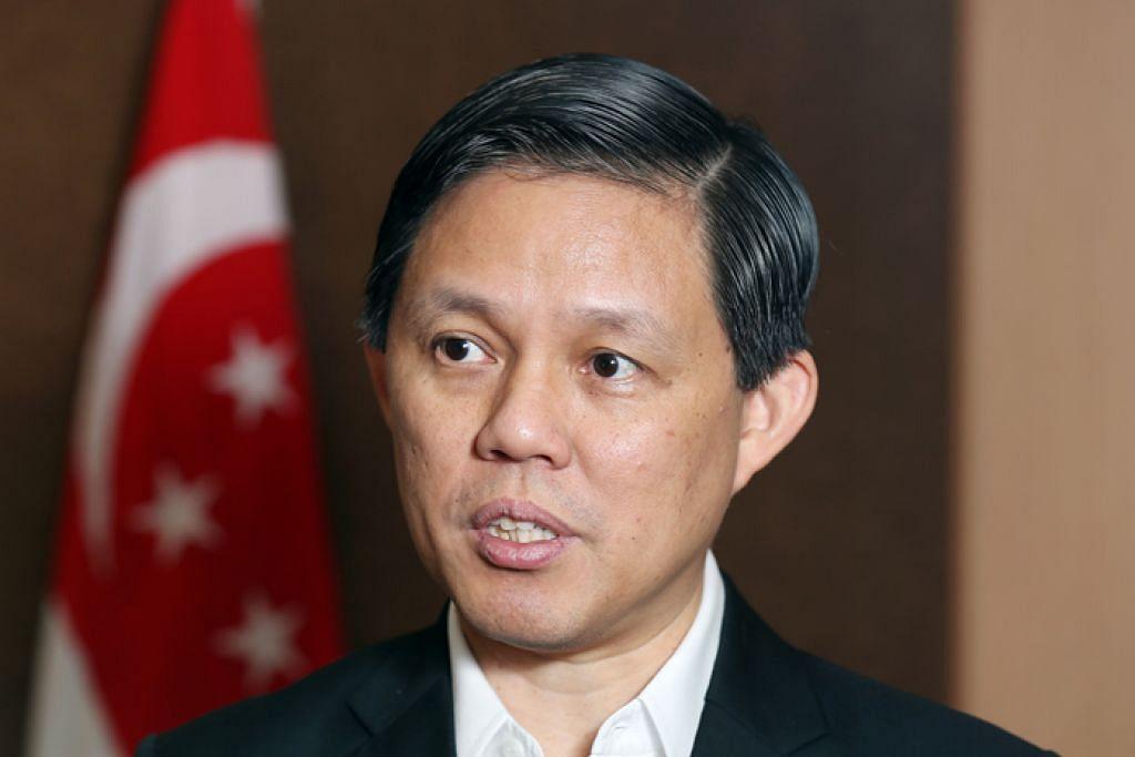 ENCIK CHAN CHUN SING: Menteri Perdagangan dan Perusahaan diminta oleh Encik Heng Swee Keat agar menjadi timbalannya. – Foto SPH
