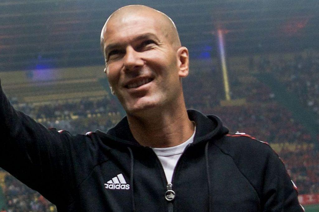 PILIHAN POPULAR: Zinedine Zidane (atas), Mauricio Pochettino, Didier Deschamps, Laurent Blanc dan Ryan Giggs merupakan antara pilihan yang berpotensi menggantikan Jose Mourinho yang telah meninggalkan kelab bola sepak tersebut. – Foto-foto AFP, REUTERS