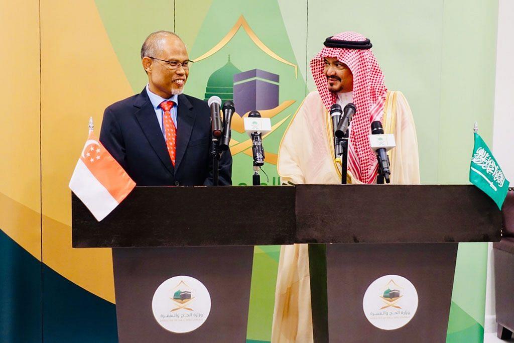 Masagos minta Saudi izin lebih ramai warga S'pura tunai haji tiap tahun