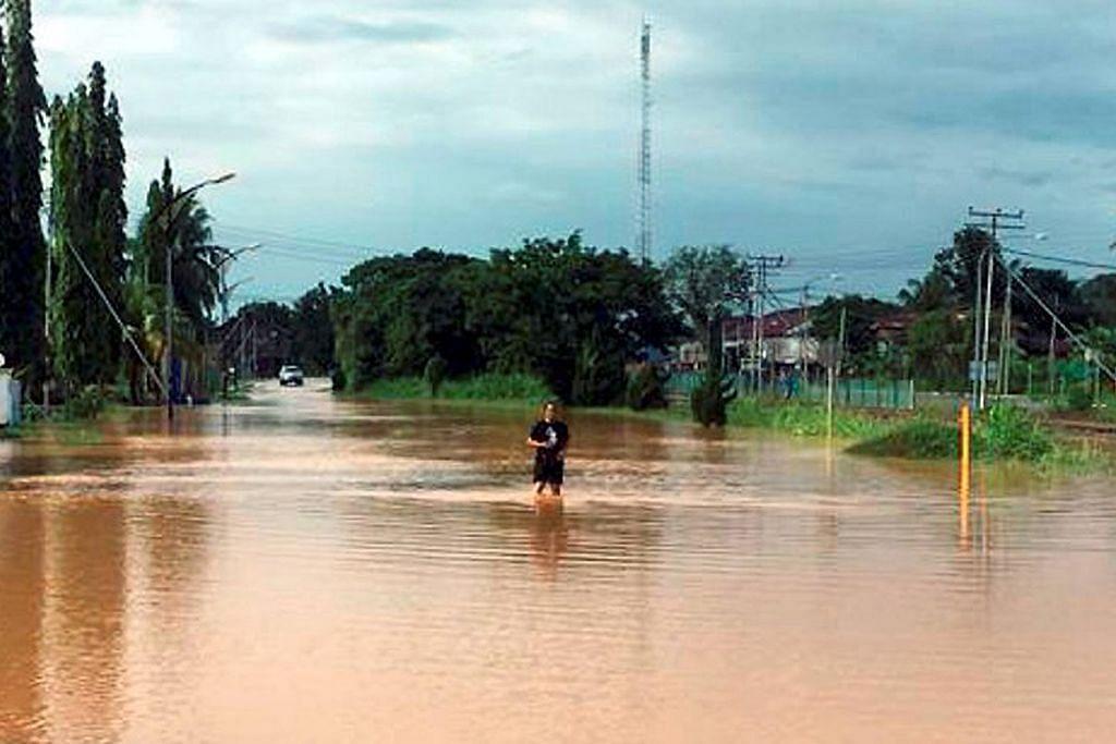 Empat negeri M'sia hadapi banjir teruk