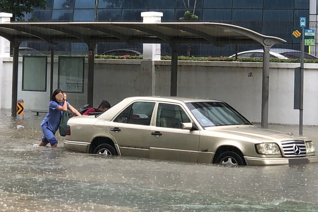 Sembilan kawasan dilanda banjir kilat