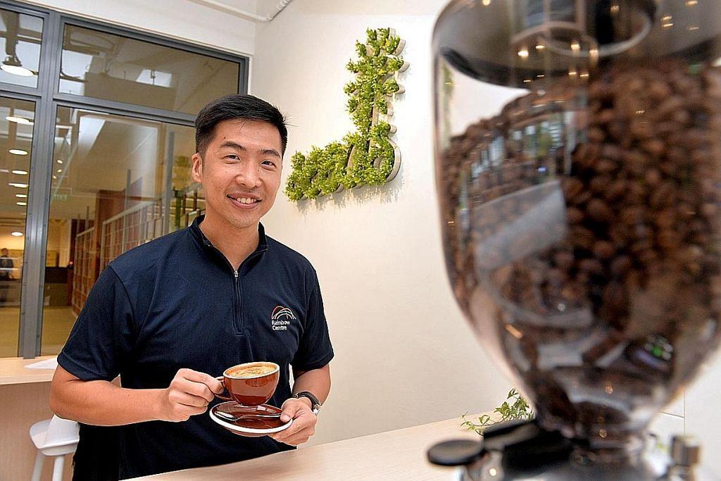 Kafe istimewa kendalian 'kru' berkeperluan khas