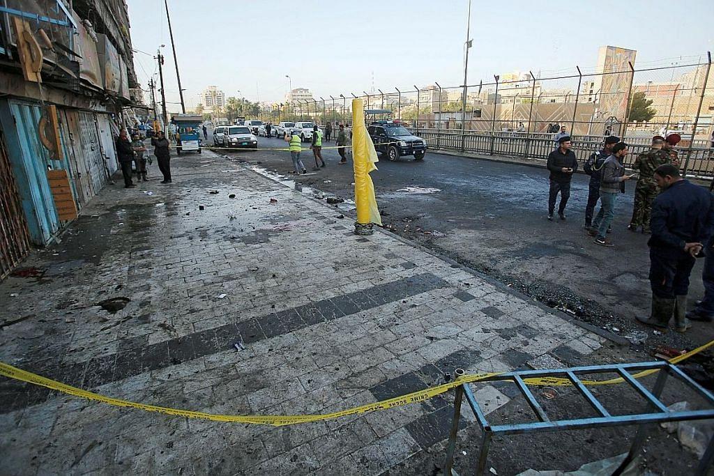 PM Iraq gesa sel militan dihapus selepas 31 maut dalam dua serangan