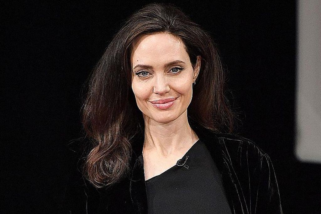 Jolie kagumi bakat lakon anak Kemboja