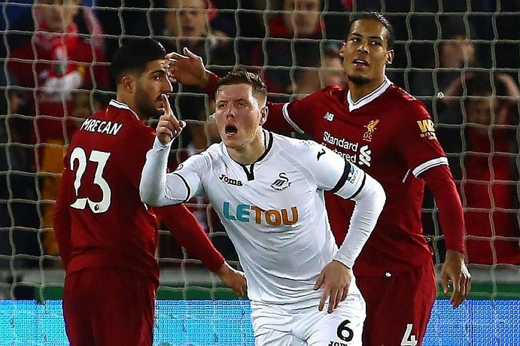 Klopp: Pemain terikut rentak Swansea