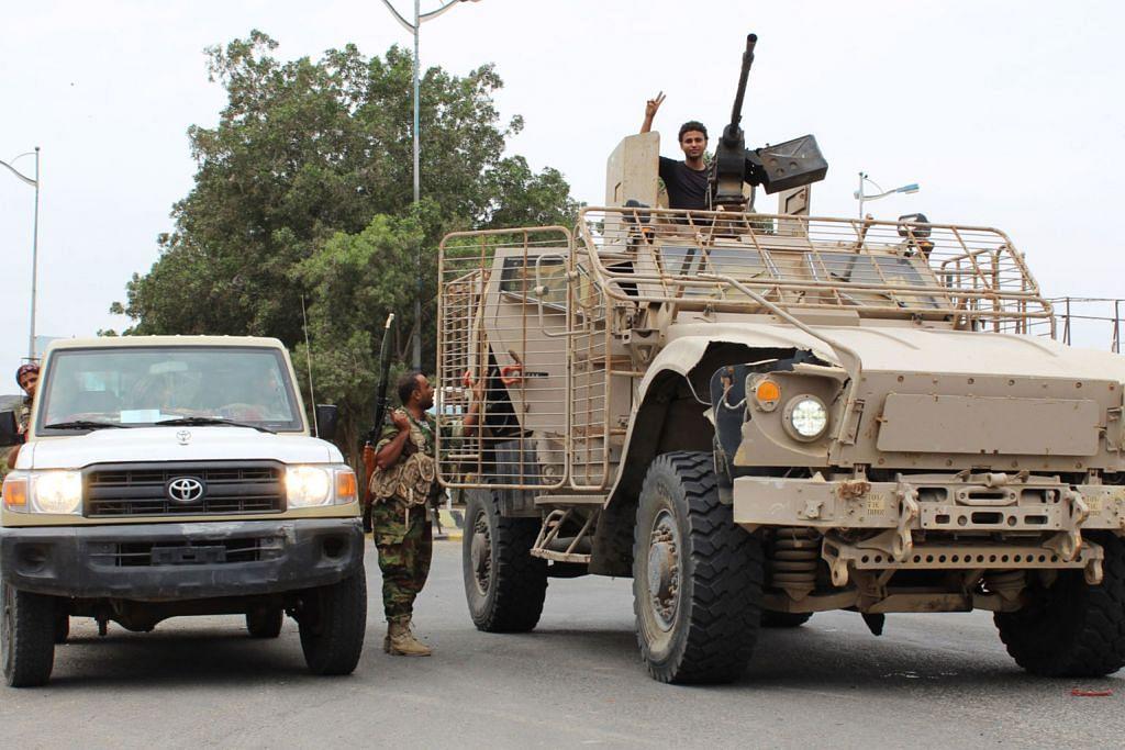 Golongan pemisah cuba ambil alih Aden daripada pemerintah Yaman